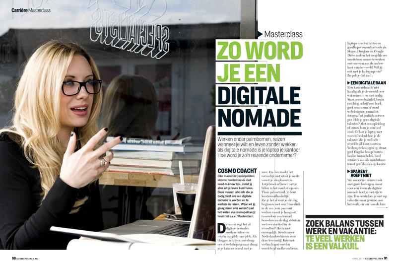 Zo word je digitale nomade