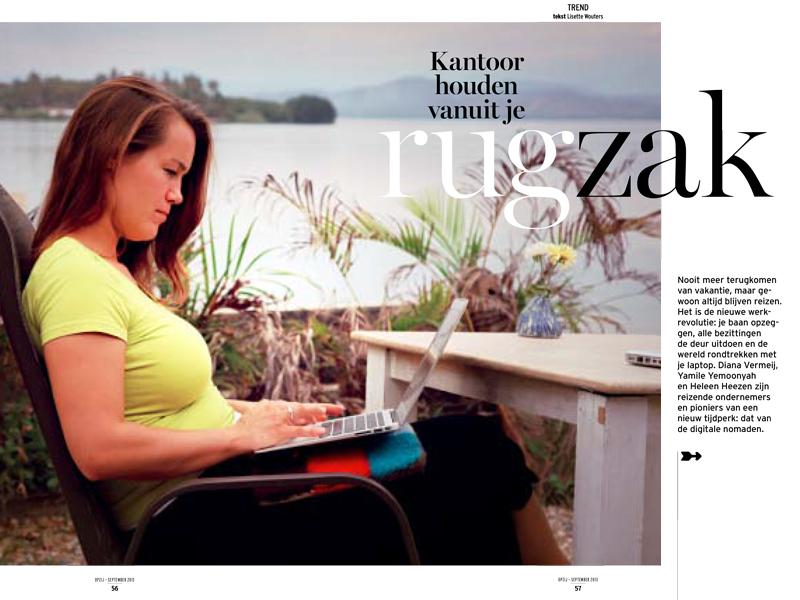 Deze vrouwen leven de laptop lifestyle