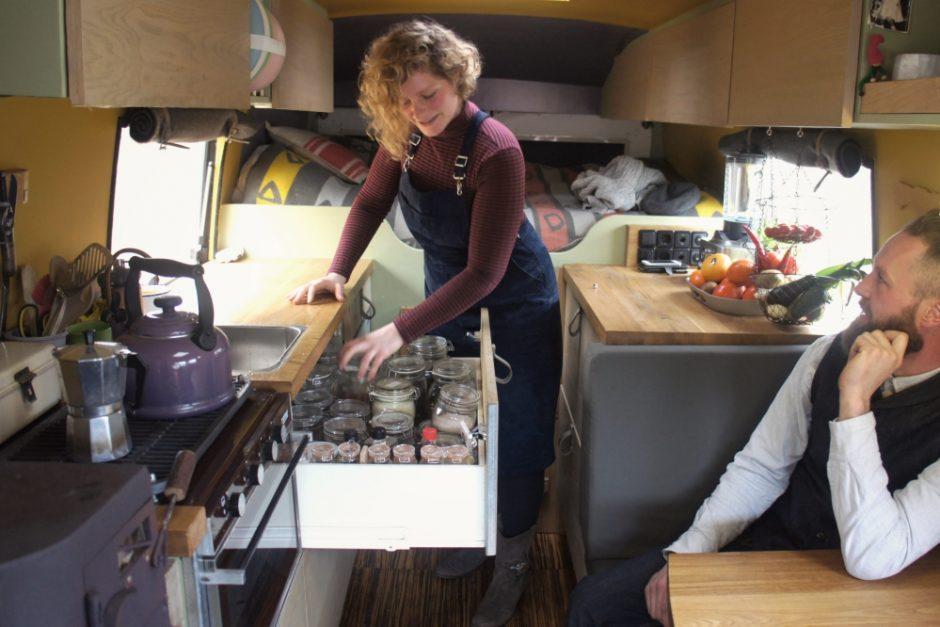 Annemarie en Martijn wonen fulltime in een camper