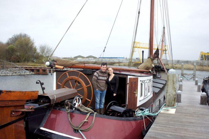 Jesper woont met zijn gezin op een monumentaal zeilschip uit 1893