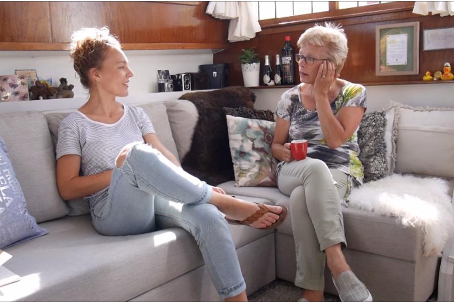 Vlog: Hoe is het om aan boord van een schip te wonen?